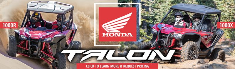 All New Honda Talon at Babbitt's Online