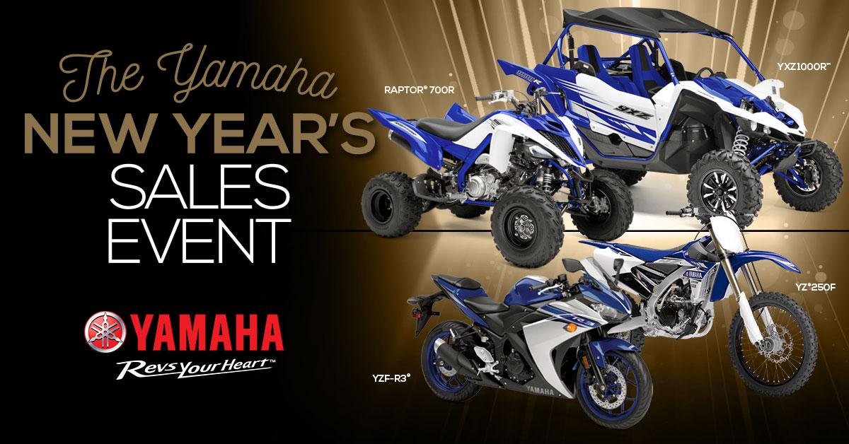 yamaha new years sales event