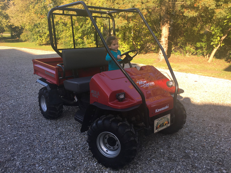 Mike Andrews: 1998 Kawasaki Mule 550 Restoration